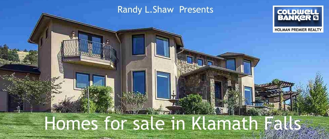 Homes for Sale in Klamath Falls banner